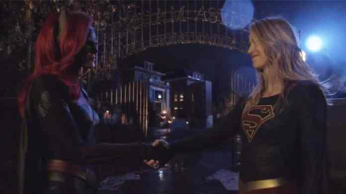 Image result for batwoman and supergirl