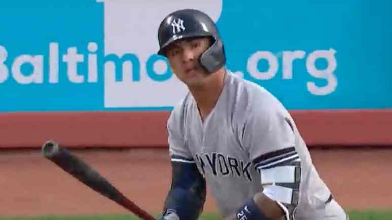 gleyber torres of the new york yankees