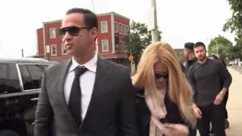 mike sorrentino arrives for his court sentencing