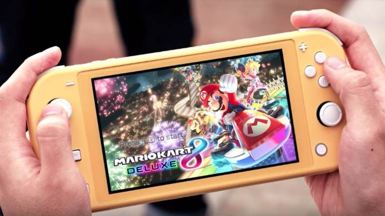 nintendo switch lite handheld device unveiled by nintendo