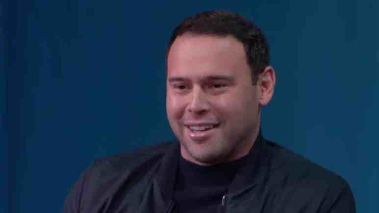 Scooter Braun during interview with Fast Company