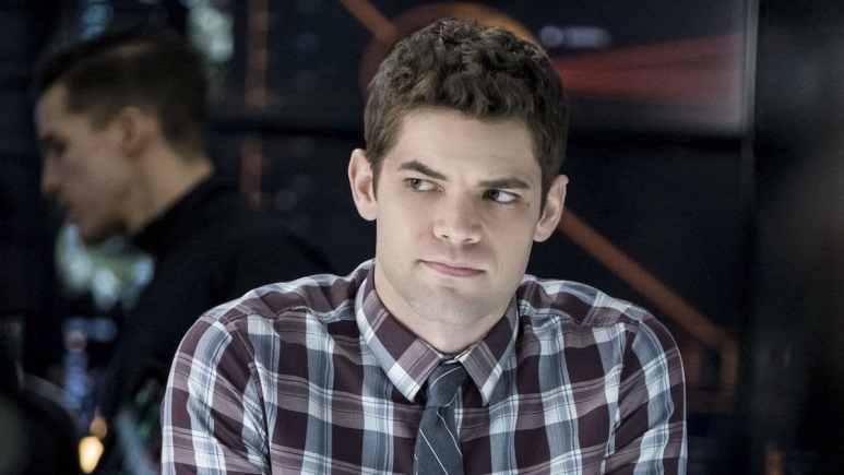 Jeremy Jordan as Winn Schott in Supergirl.