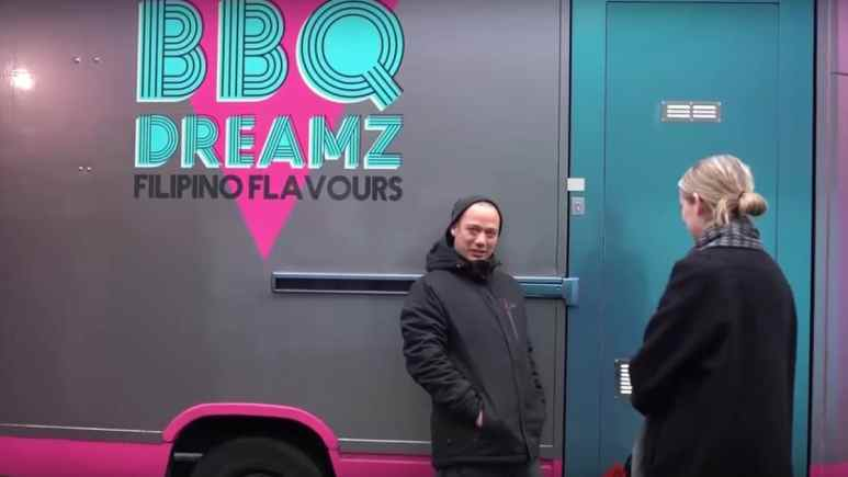 BBQ Dreamz owners Lee Johnson and his girlfriend Sinead Campbell