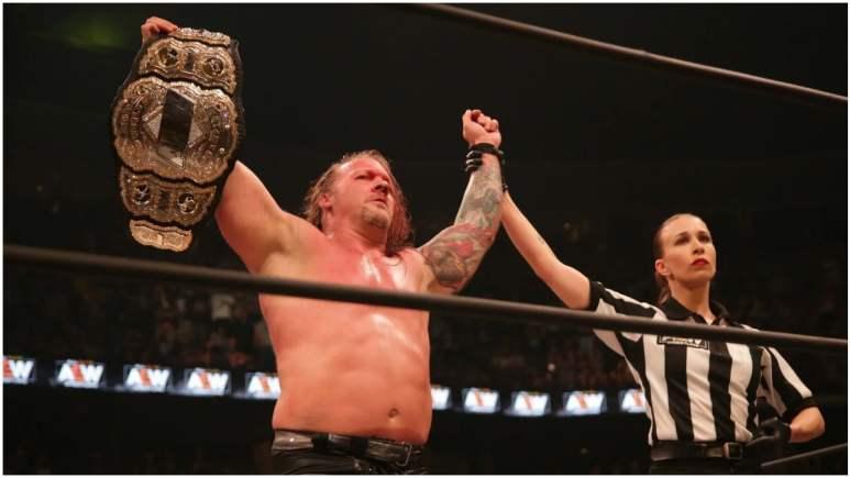 Chris Jericho as AEW world champion