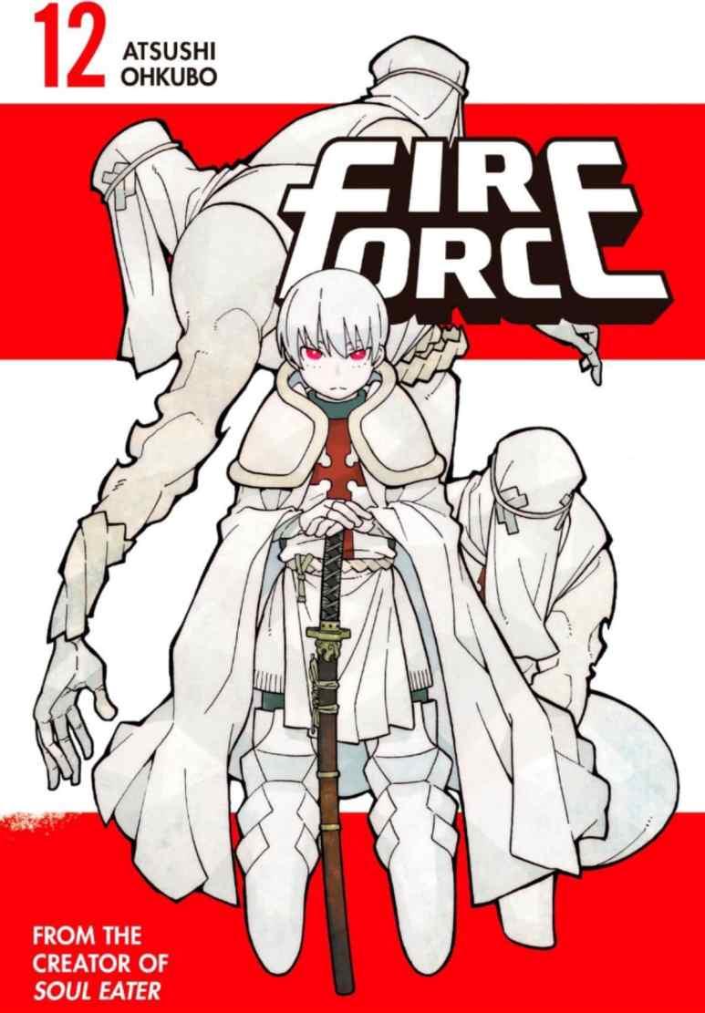 Fire Force anime Enen no Shouboutai Manga Volume 12