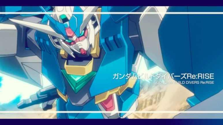 Still from the first trailer for the new Gundam Build Divers Re:RISE