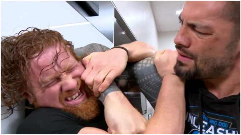 Who hit Roman Reigns with a car: