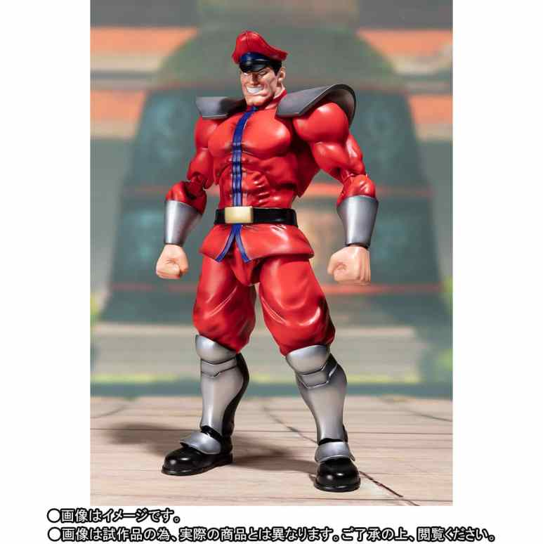 The Street Fighter V – S.H. Figuarts Classic Costume M. Bison full length view