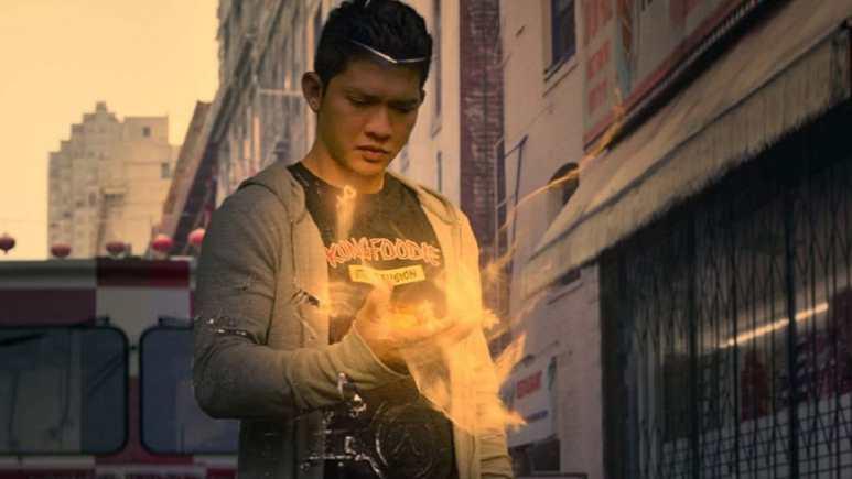 Iko Uwais as Kai Jin in Wu Assassin