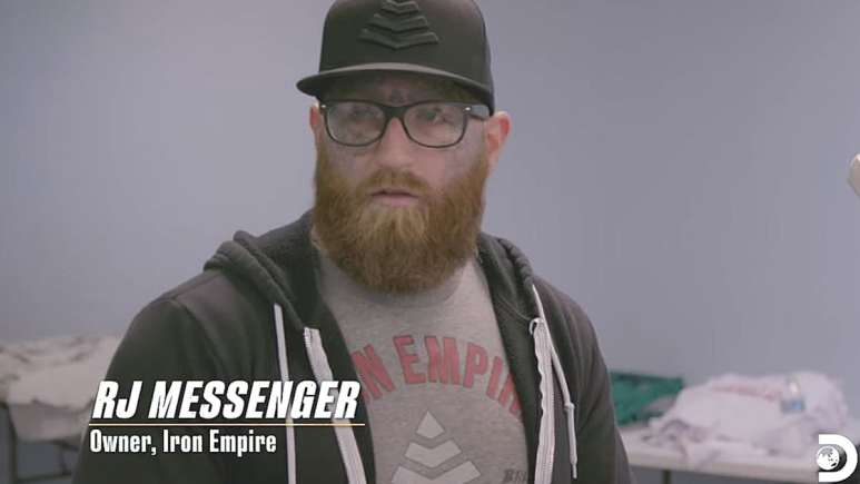 R.J. Messenger teamed up with Stearns on Undercover Billionaire. Pic credit: Discovery