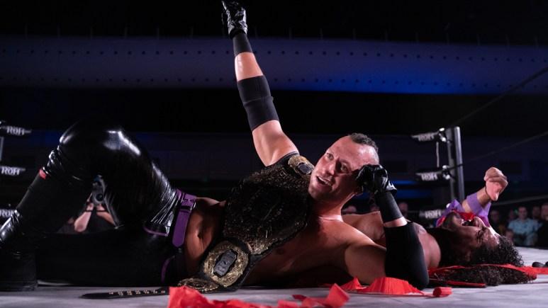 Matt Taven exclusive Ring of Honor interview