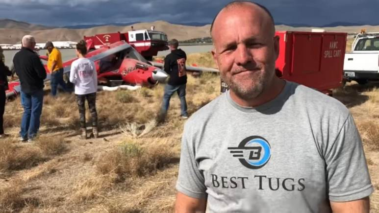 """""""I want to make sure everyone knows that's what it was — pilot error; pilot error; pilot error. I make no excuses,"""" Patey said in his video. """"This is going to haunt me for a long time."""""""