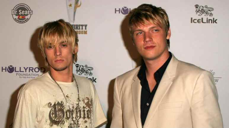 Who are feuding brothers Nick and Aaron Carter?