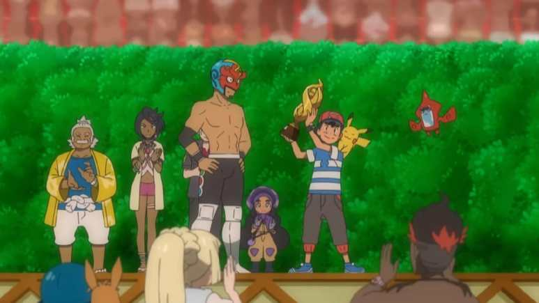 Ash is the new Alola League champion