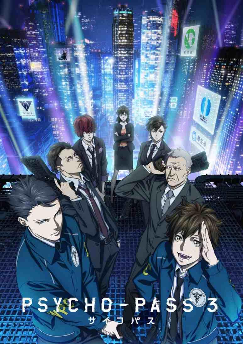 Psycho-Pass 3 Anime Key Visual 2019