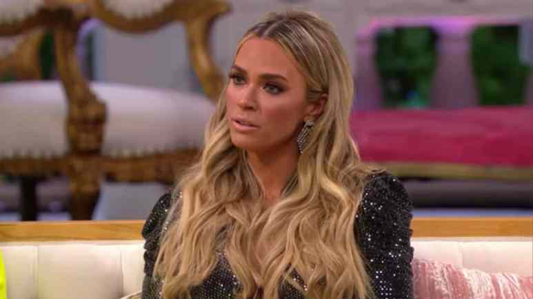 Teddi Mellencamp on The Real Housewives of Beverly Hills reunion.