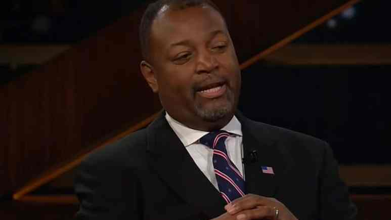 Security expert Malcolm Nance has lost his wife Maryse to complications from ovarian cancer. Pic credit: YouTube/HBO Real Time with Bill Maher