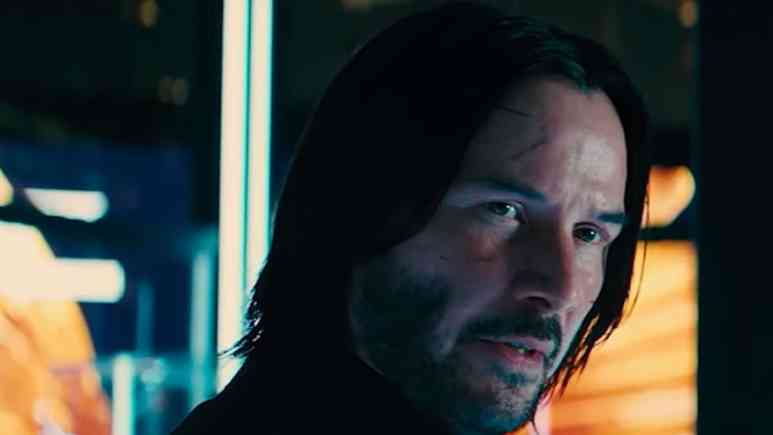 keanu reeves in john wick chapter 3 parabellum move