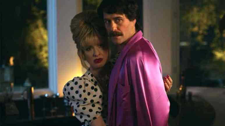 Leslie Grossman as Margaret and Matthew Morrison as Trevor