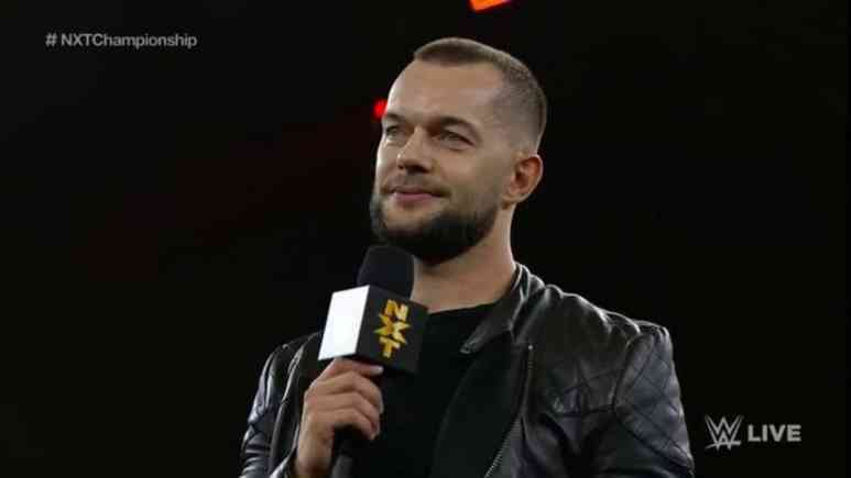 Finn Balor returns to WWE NXT