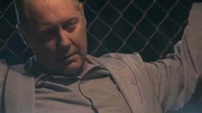 James Spader as Reddington in The Blacklist