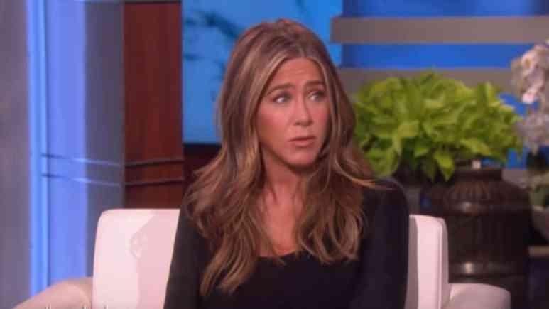 Jennifer Aniston On Ellen