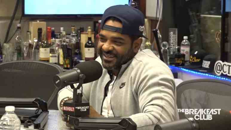 Jim Jones Breakfast Club interview