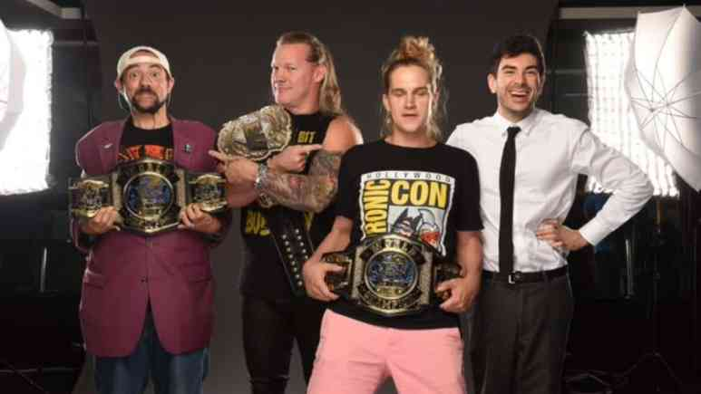 Jay and Silent Bob: Kevin Smith and Jason Mewes show up at AEW Dynamite