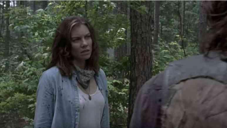 Maggie on season 9 of The Walking Dead