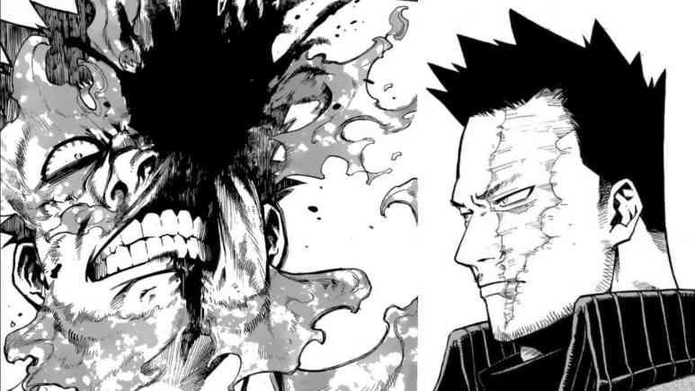 My Hero Academia Manga Endeavor Scar