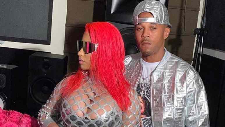 Nicki Minaj and Kenneth Petty on Instagram