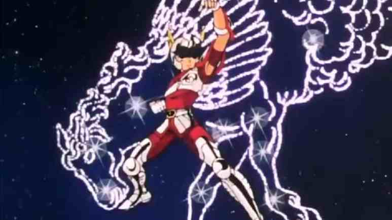 Pegasus Seiya is ready for action