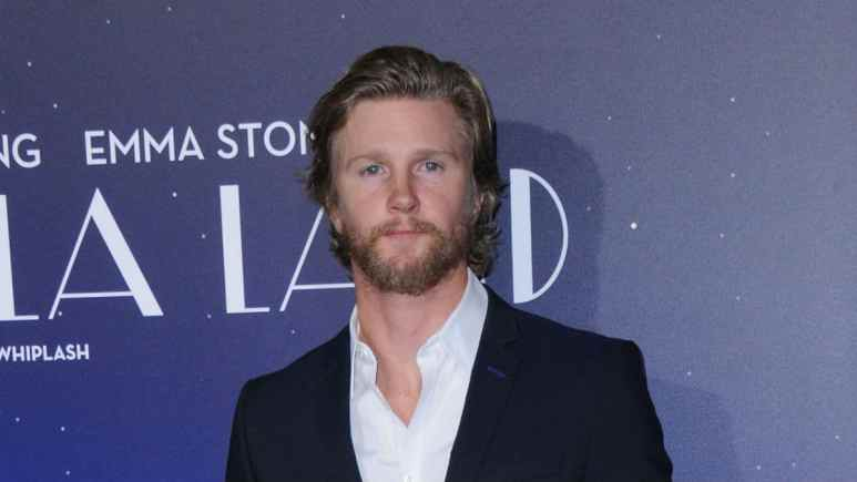 Thad Luckinbill at an event on the red carpet.