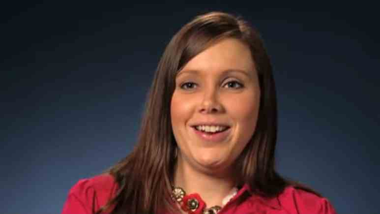 Anna Duggar 19 Kids and Counting confessional.
