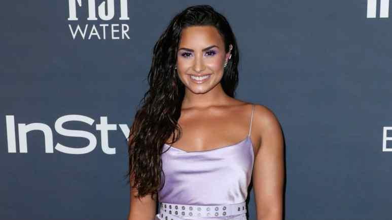 Demi Lovato not pregnant despite viral photo
