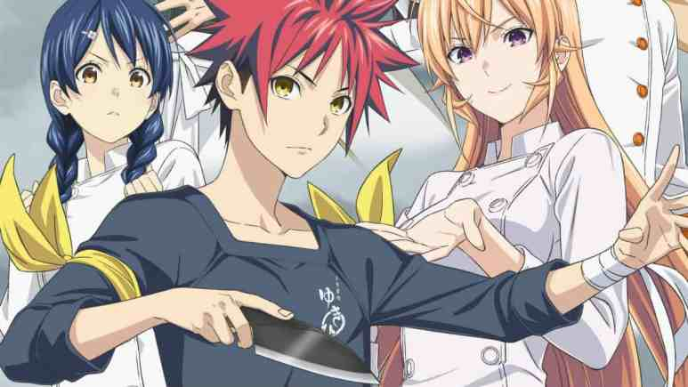 Food Wars! character imagery