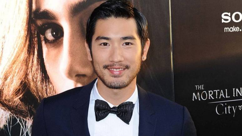 Taiwanese-Canadian model and actor Godfrey Gao