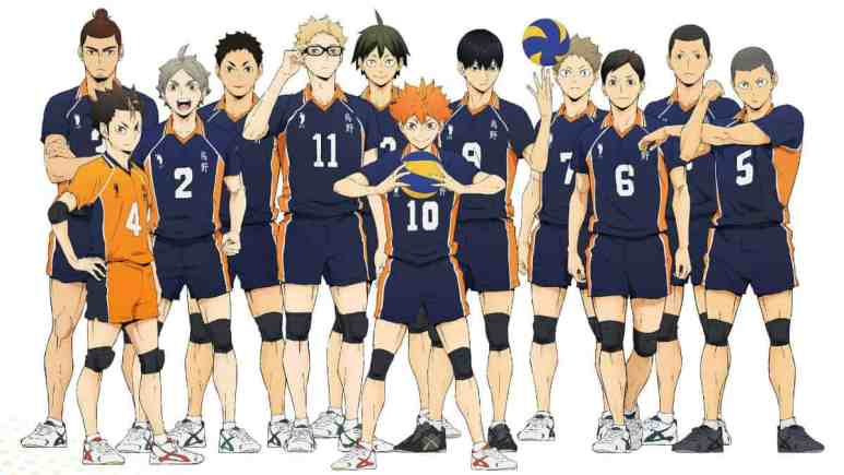 The team in Haikyuu!! To The Top