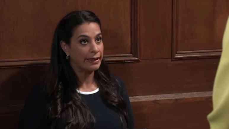 Maysoon Zayid as lawyer Zahra Amir on General Hospital