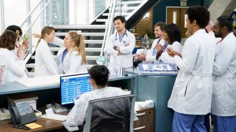 McWidow on Grey's Anatomy