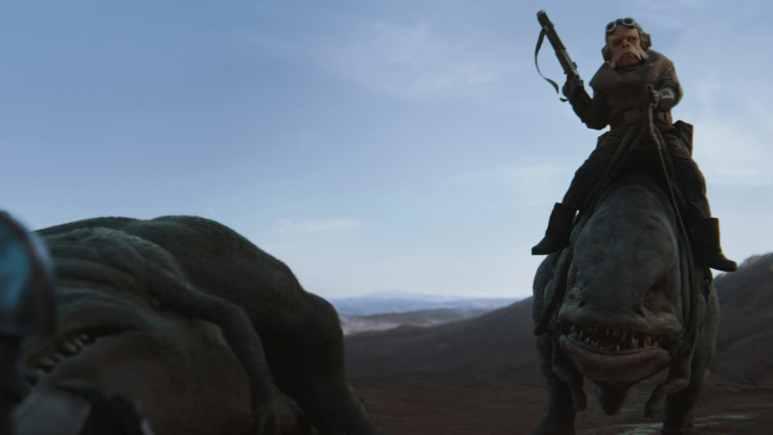 Nick Nolte as Kull from The Mandalorian