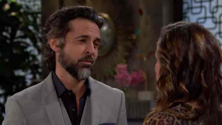 Jeffrey Vincent Parise as Simon on The Young and the Restless.