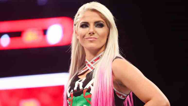 wwe star alexa bliss made a return on the latest smackdown episode