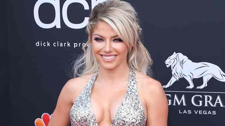 alexa bliss attends 2019 billboard music awards show