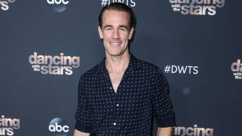 James Van Der Beek at ABC's Dancing with the Stars to 6 finalists party