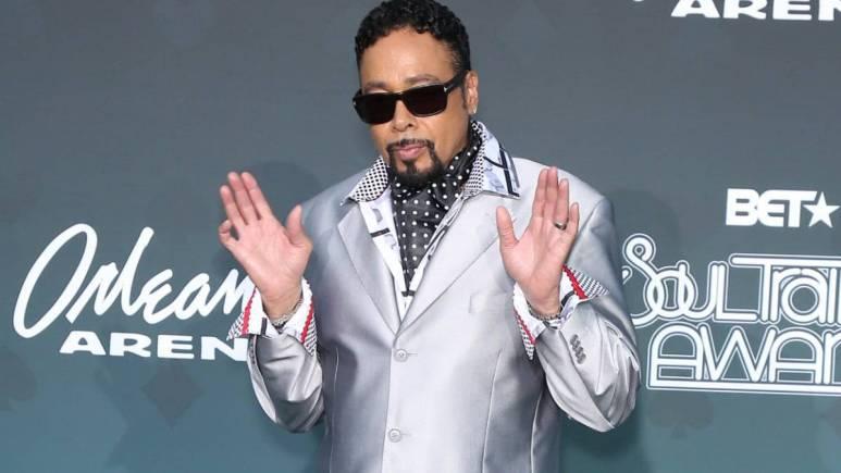 Morris Day at the 2019 Soul Train Awards in Las Vegas