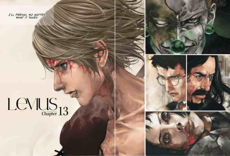 Levius Manga Art Colored