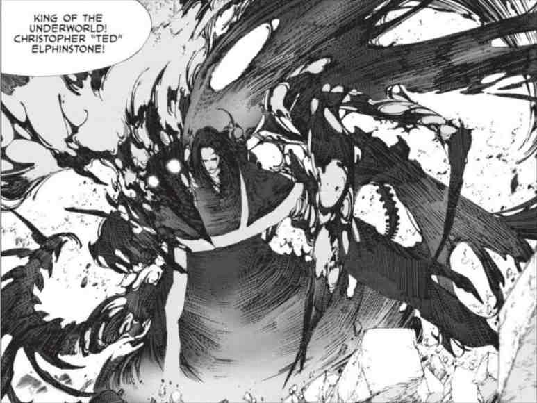 Levius est Manga Characters Christopher Ted Elphinstone