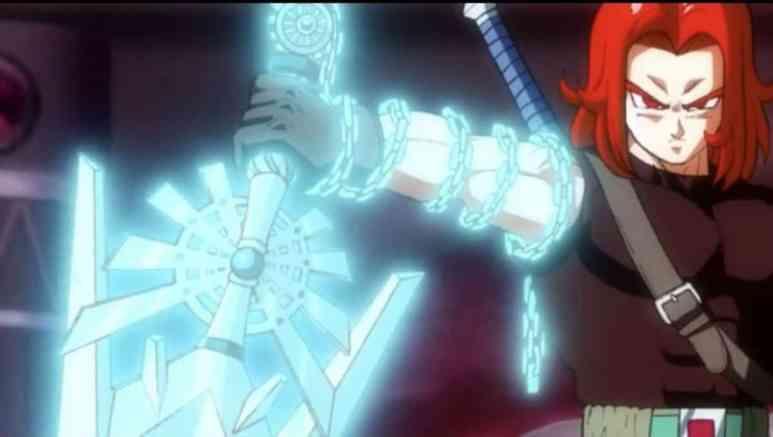 Super Dragon Ball Heroes Anime Trunks