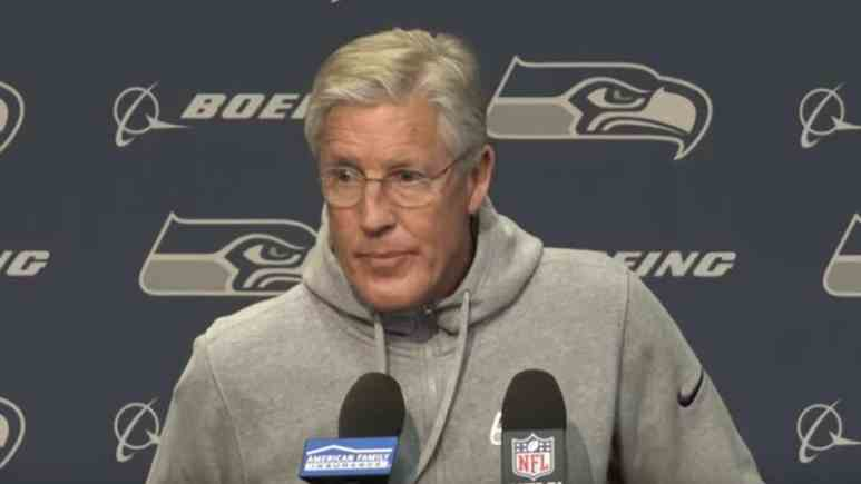 seahawks head coach pete carroll speaks about josh gordon suspension